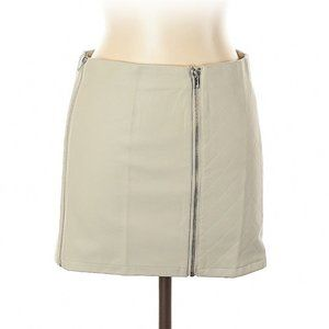 NWT LF/Mieeion Eco Leather mini skirt S
